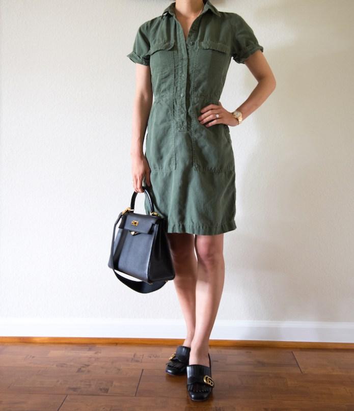 Jcrew cargo dress