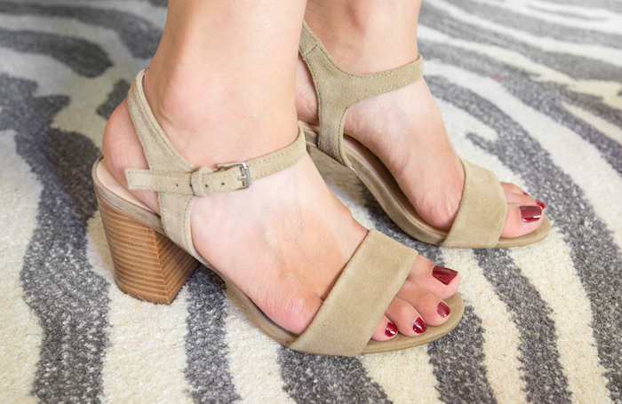 Suede Sandals Sole Society