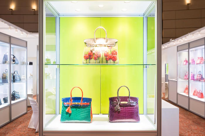 A handbags preview at Christie's