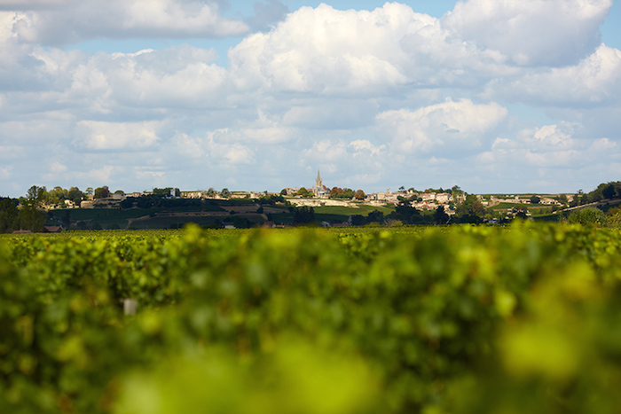 The beautiful town of St Emilion, where Chateau Haut-Brisson is located