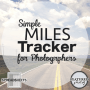 Miles Tracker for photographers - FEATURED photog