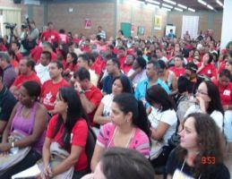 Trabalhadores do Comércio de SC participam de Congresso da Contracs