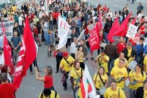 Paralisação nacional contra as terceirizações – 29 de maio