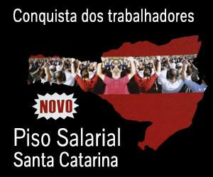 Piso Salarial Santa Catarina