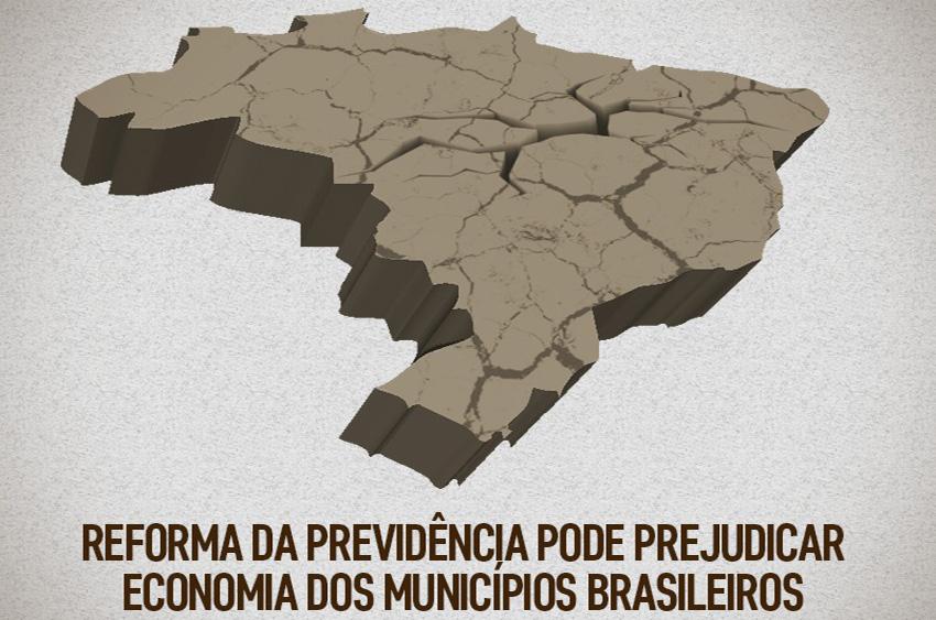 mapa Previdência