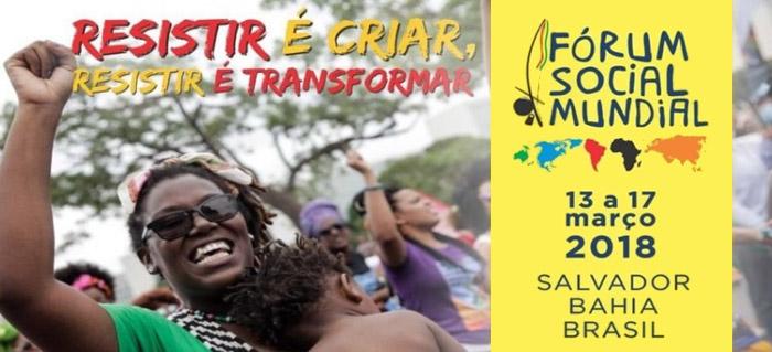 Fórum Social Mudial em Salvador