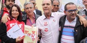 Plataforma da Classe Trabalhadora é entregue para candidato Décio Lima