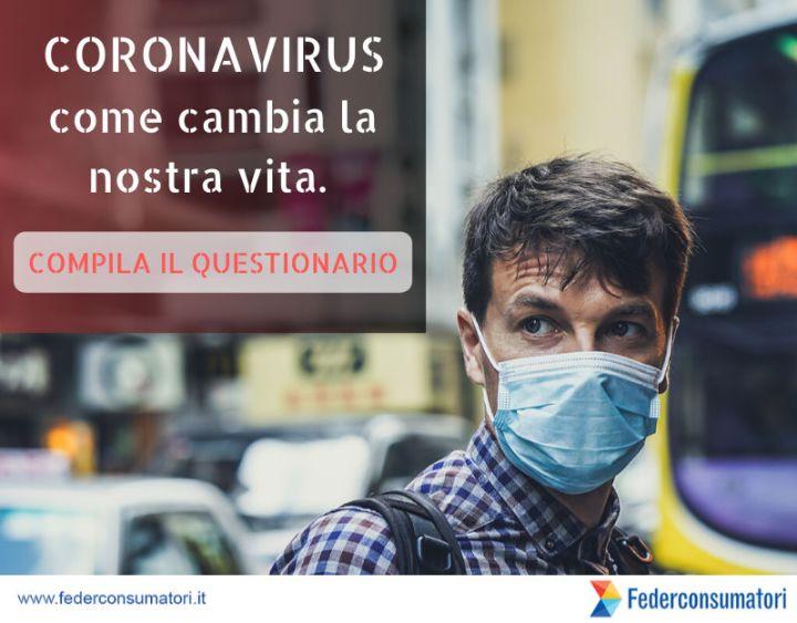 Coronavirus questionario federconsumatori