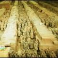 Guerrero de terracota chinos