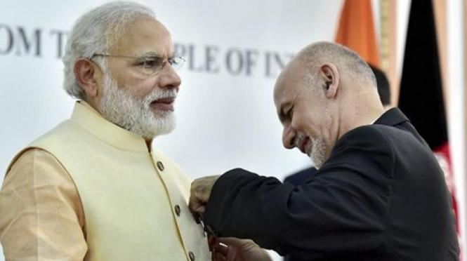 PM Modi Honoured With Amir Amanullah Khan Award, Afghanistan's Top Civilian Honour