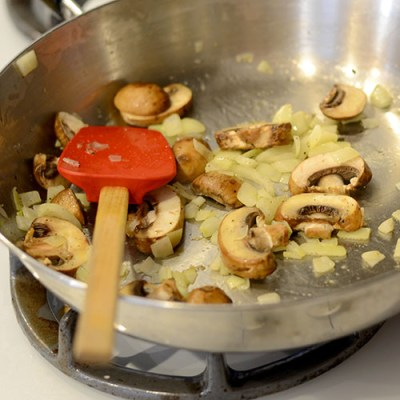 Mushroom onions 500