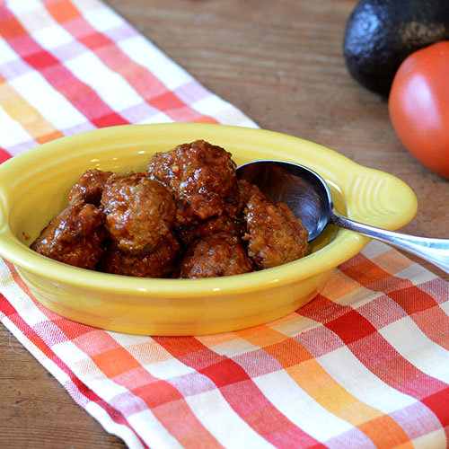 Cajun Meatballs - Feed Your Soul Too