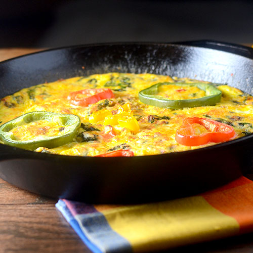 Mexican Frittata - Feed Your Soul Too