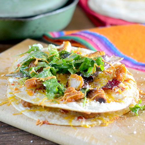 Sweet Chili Chicken Quesadillas from Feed Your Soul Too