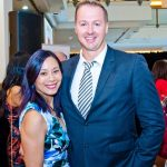 This is an image of Linda Pang and Craig Spence