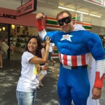 This is the image of Linda Pang and Captain Kindness