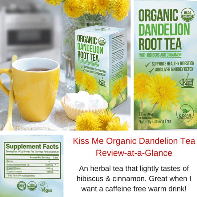 KissMe Organic Dandelion Tea