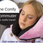 Review Comfy Commuter Travel Pillow