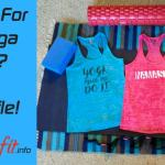Are You Looking For Fun Yoga Tank Tops? Try Baffle!