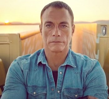 Jean-Claude Van Damme youtube screengrab