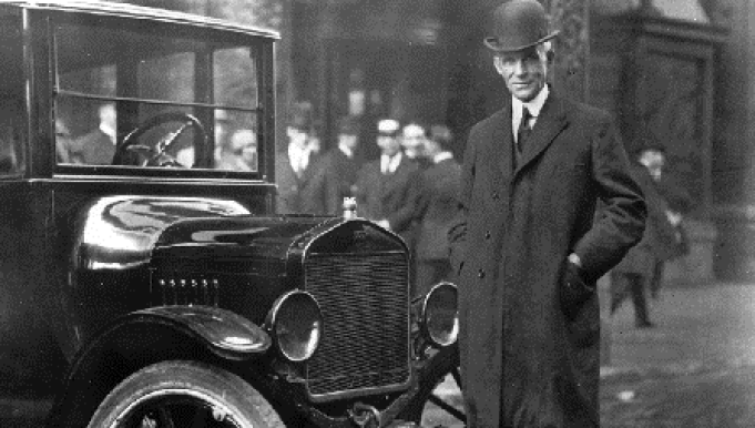 Henry Ford First Auto