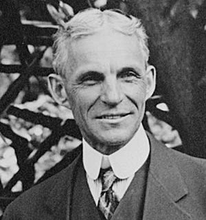 Henry Ford owner of Ford Auto