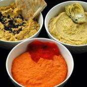 Homemade Hummus and Other Healthy Dips