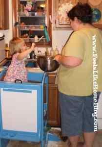 making chocolate candy corn cookies