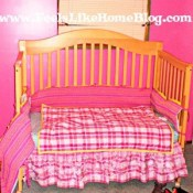 Grace's New Bedroom: Done (For the Moment)
