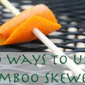 10 Foods to Make with Bamboo Skewers
