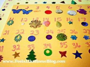 counting craft for preschoolers