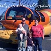 The Oscar Mayer Wienermobile (with my family inside)