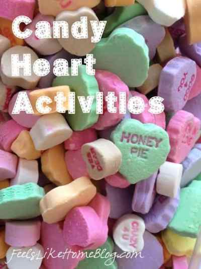 candy heart activities