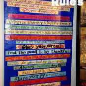 Our Family Rules Tutorial
