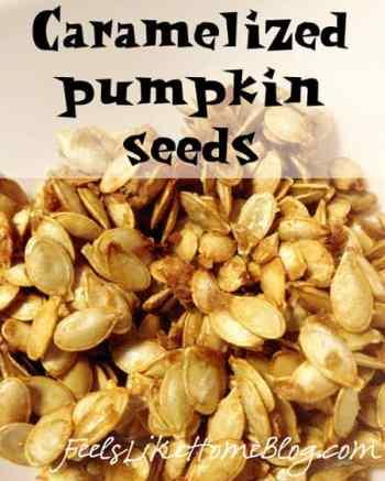 Roasting Pumpkin Seeds