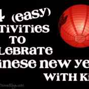 24 Chinese New Year Activities for Kids