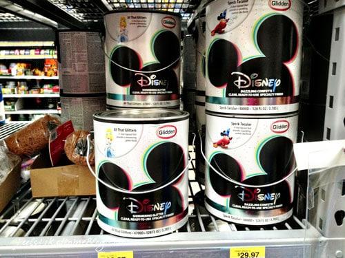Glidden Disney Paint Display