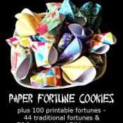 Paper Fortune Cookie Tutorial