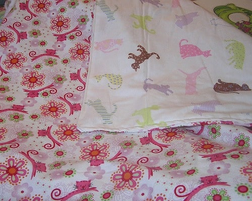 how to make flannel baby blankets finished blanket