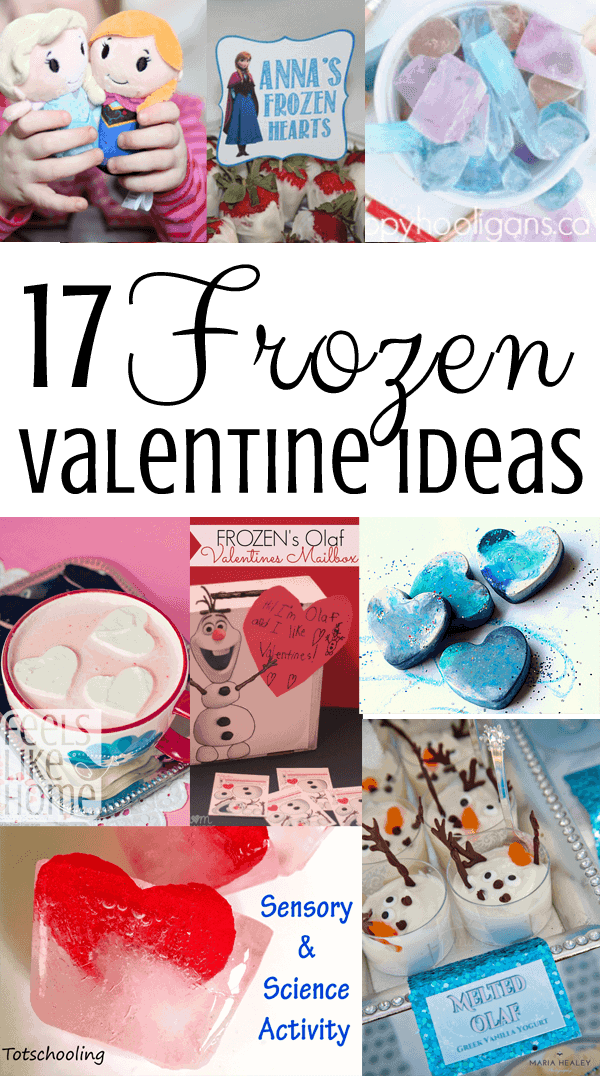 17 Frozen-inspired Valentine's Day ideas including frozen hearts and much more!