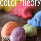 Play Dough Color Theory for Preschoolers