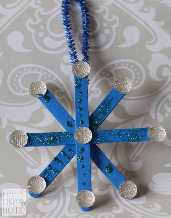 popsicle-stick-snowflake-ornaments-preschoolers-grace-silver-blue