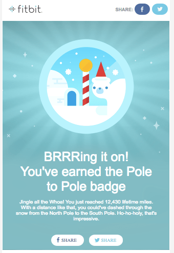Pole to Pole Badge