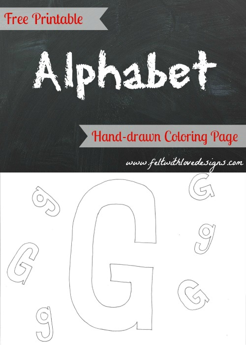 Coloring Pages Zoo : Free printable alphabet coloring pages letter n felt with love