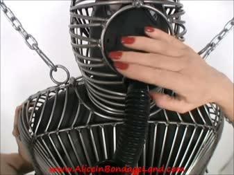 extreme latex bondage