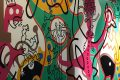 Painting by Keith Haring  @Julie Anderson All Rights Reserved