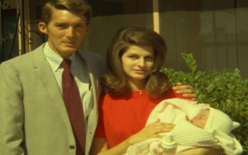 My parents and baby me 1970 © Julie Anderson All Rights Reserved
