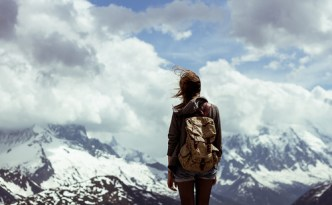 montagne-femme