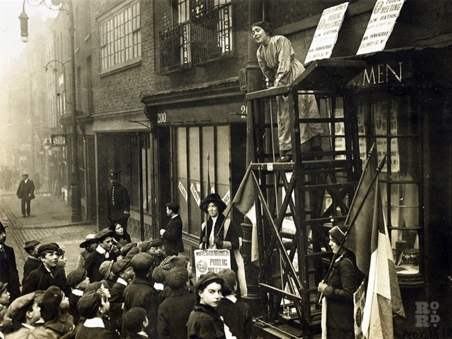 Sylvia Pankhurst original East London Federation of Suffragettes head quarters on Bow Road