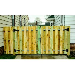 Small Crop Of Picket Fence Gate